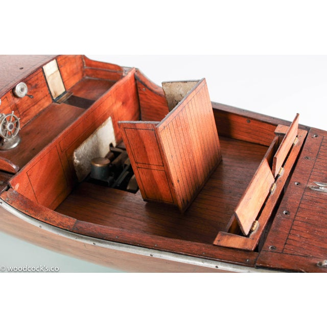 1940s Steam Powered Wooden Boat - Image 9 of 11