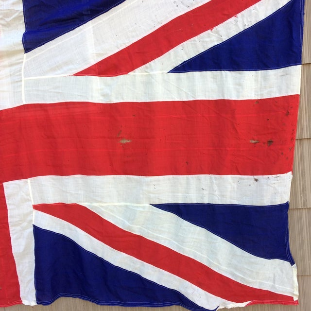 "Vintage ""Union Jack"" British Flag - Ship Flag - Image 7 of 11"