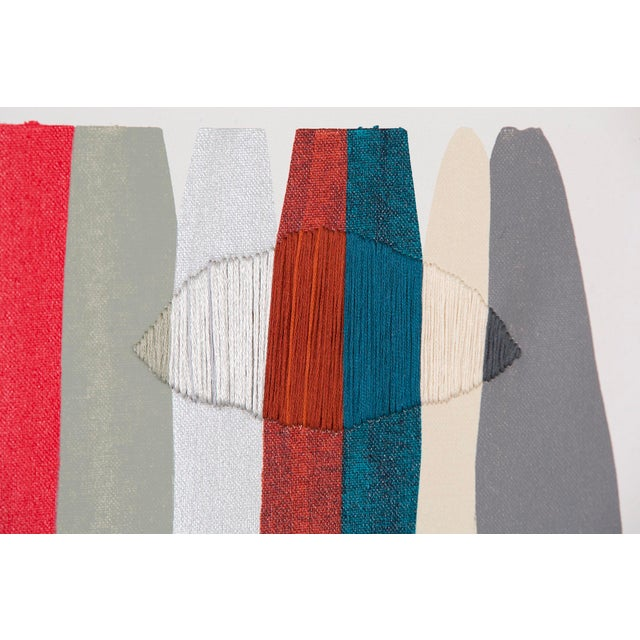 "Abstract Raul de la Torre, ""FILS I COLORS CCXLVI"" For Sale - Image 3 of 7"