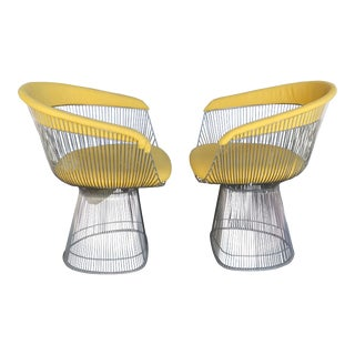 Warren Platner for Knoll Vintage Side Chairs - A Pair For Sale