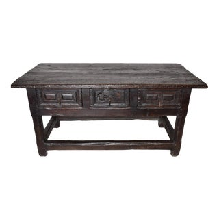 17th Century Baroque Spanish Table For Sale