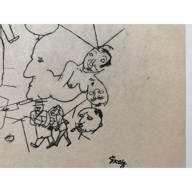 Artist George Grosz German American. ( July 26, 1893 - July 5, 159 ) Title :- OUR WORLD Year :- 1918 Printed :- 1940...