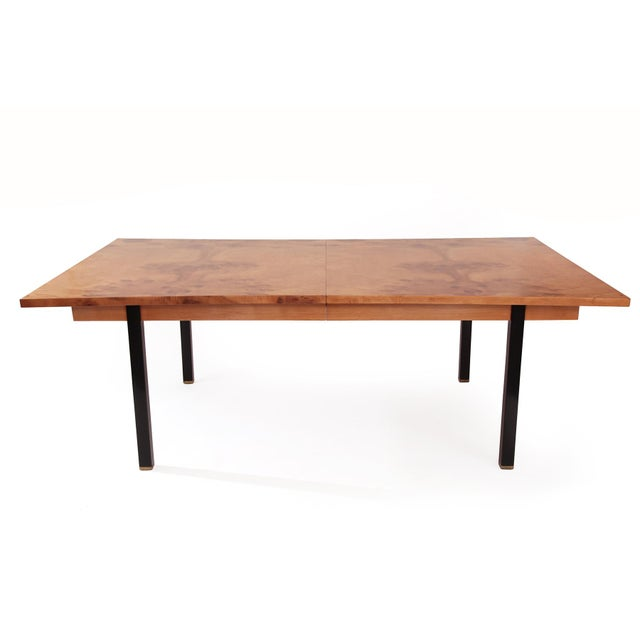 Phenomenal Figural Burl Wood Dining Table by Romweber - Image 4 of 6