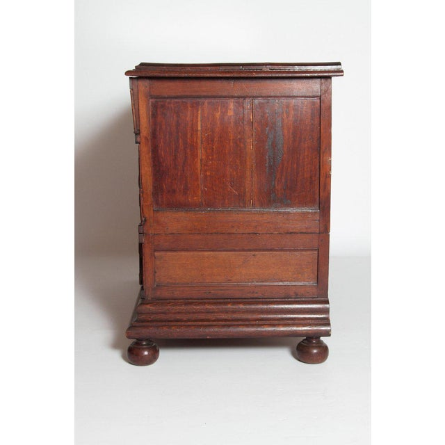 A Late 19th Century Oak Jacobean Style Chest For Sale In Dallas - Image 6 of 13