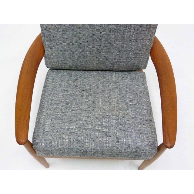Danish Modern Grete Jalk Teak Lounge Chair For Sale In Denver - Image 6 of 10