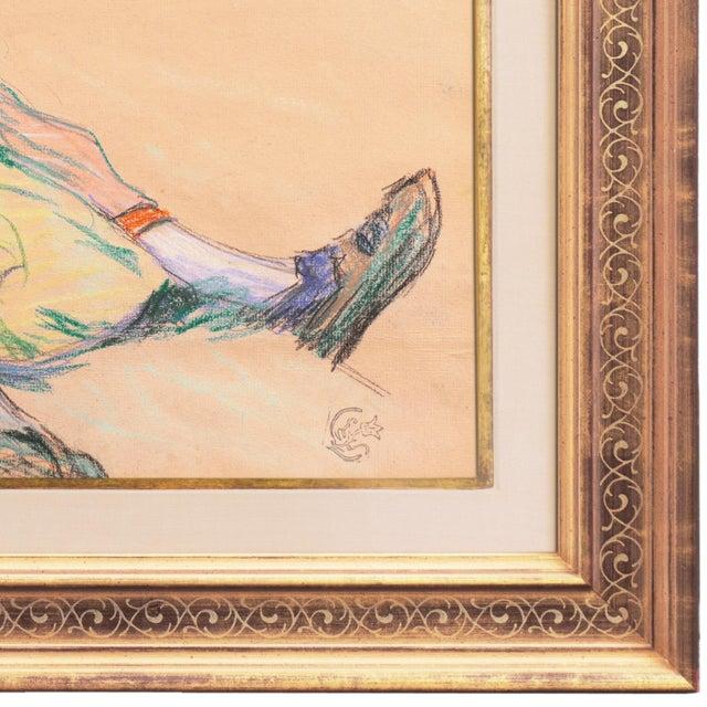 Figurative 'La Ramasseuse De Varech' by Claude Emile Schuffenecker, 1883; Young Bretonne Kelp Gatherer, Paul Gauguin For Sale - Image 3 of 13