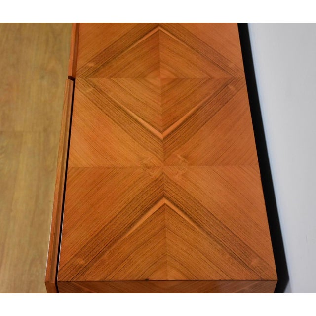 Chrome Milo Baughman for Thayer Coggin Rosewood Credenza For Sale - Image 7 of 12