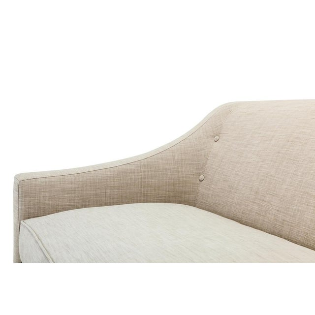 Clad Home Custom Ivory Linen Sofa - Image 3 of 6