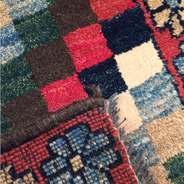 """Gabeh Hand Made Persian Rug - 1'9"""" x 2'5"""" - Image 10 of 10"""