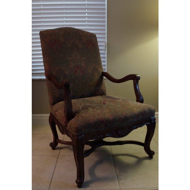 1990s Bernhardt Living Room Chairs - A Pair For Sale - Image 5 of 13