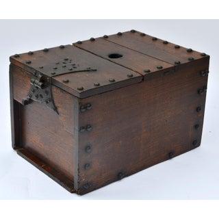 Antique Japanese Ship Chest Zenibako Money Box Preview