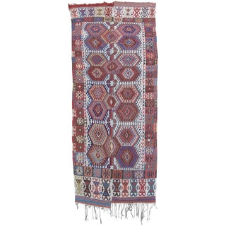 Konya Kilim - 5′5″ × 13′ For Sale