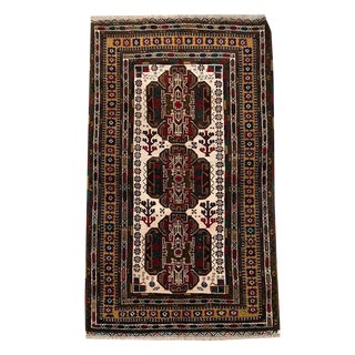Medallion Tribal Hand Knotted Carpet For Sale