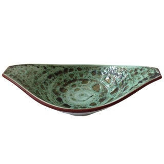 Scandinavian Art Pottery Bowl