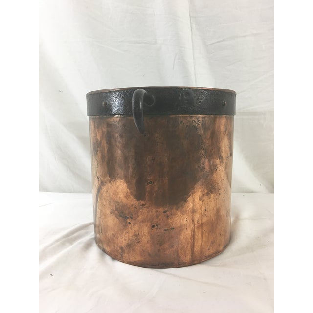 19th Century Copper Boiling Pot For Sale - Image 6 of 11