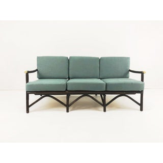 Ficks Reed Bamboo and Brass Sofa Preview