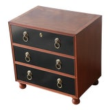 Image of Fine Three-Drawer Chest or Nightstand by Baker Furniture For Sale