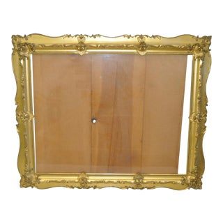 19th C. Carved and Gilded Frame