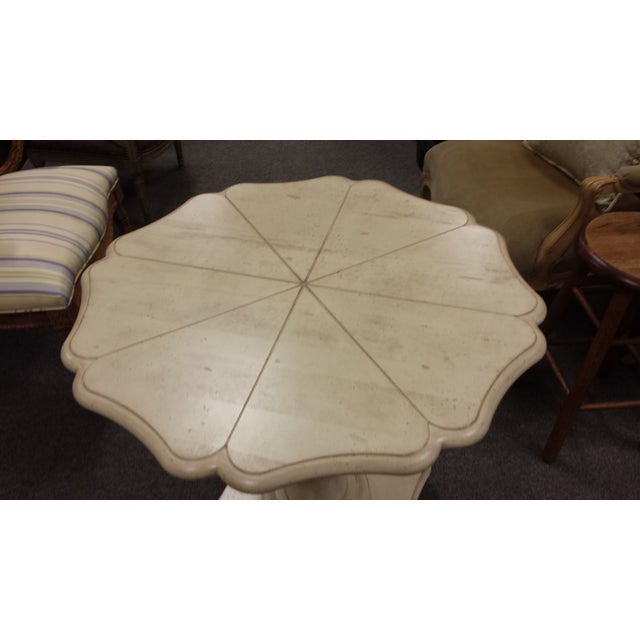 Harden Lily Pad Pedestal Side Table - Image 3 of 7