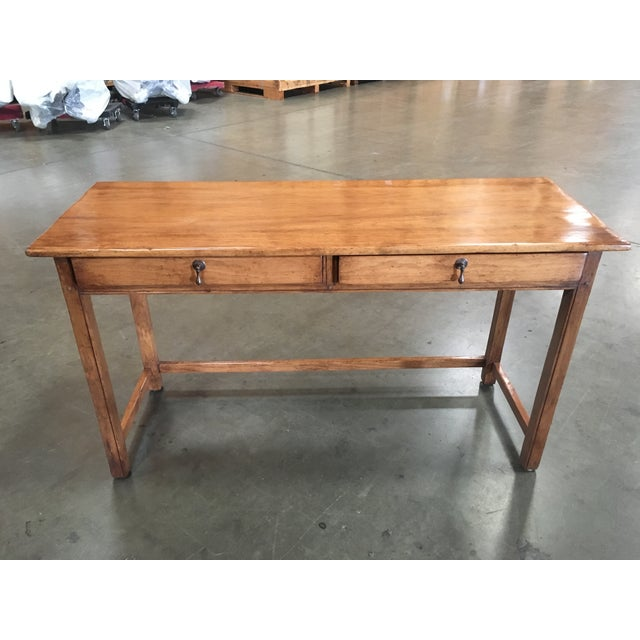 Two Drawer Console Tables - A Pair - Image 2 of 5
