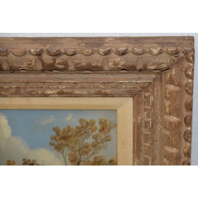 Pair of Early 20th C. Pheasant Hunt Oil Paintings For Sale - Image 10 of 11