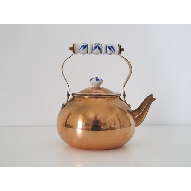 Traditional Copper Teapot - Image 2 of 4