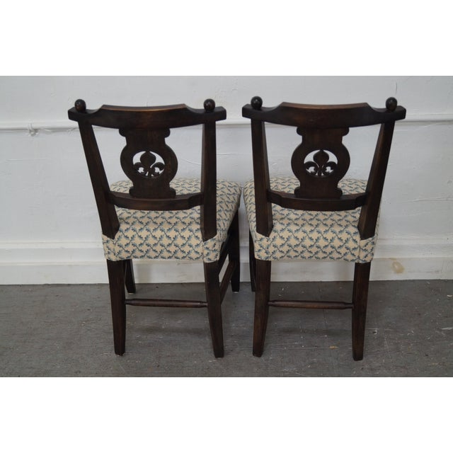 Antique 19th C. French Country Dining Chairs - 4 - Image 4 of 10