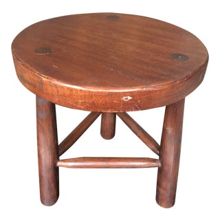 1950s Vintage David Smith & Co. Milking Stool For Sale