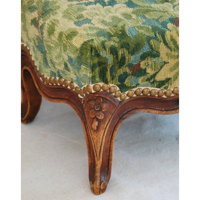 Vintage Italian Scalamandre Fabric Footstool - Image 7 of 10