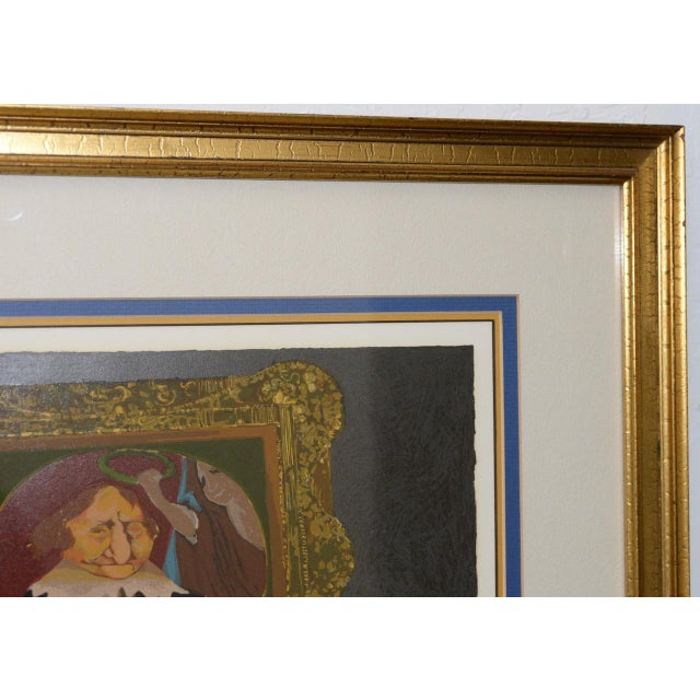 """Charles Bragg """"King of Me's"""" Limited Edition Signed Serigraph For Sale In San Francisco - Image 6 of 11"""