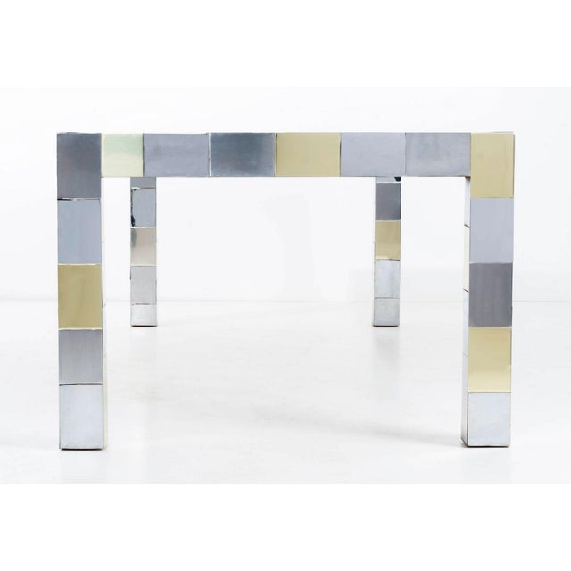 Brass Paul Evans Dining Table For Sale - Image 7 of 11