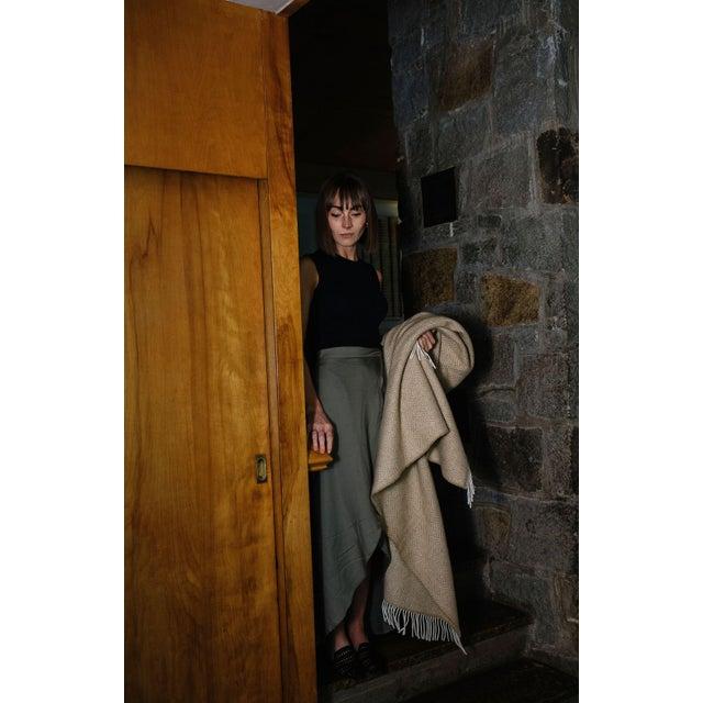 Herringbone Throw in Twilight For Sale - Image 9 of 13