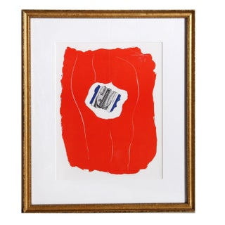 Robert Motherwell, Tricolor 137, Framed Offset Lithograph Preview