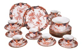 Image of White Coffee and Tea Service
