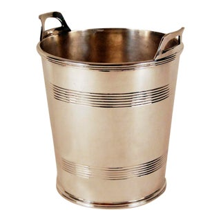 Vintage Silver Sheffield Plate Champagne Bucket For Sale