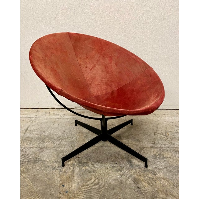 Mid Century Modern William Katavalos Barrel Chair For Sale - Image 13 of 13