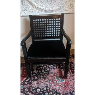 Hand Carved Moroccan Arm Chair Preview
