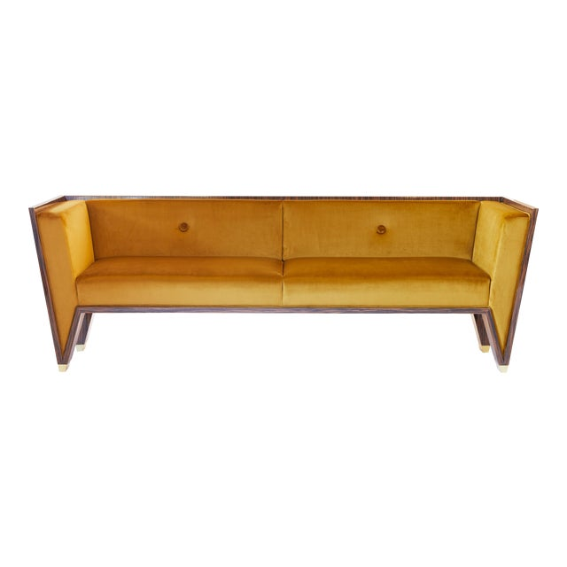 Wedge Sofa by Artist Troy Smith - Contemporary Design - Custom Furniture For Sale