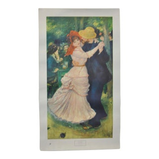 "Museum of Fine Arts Boston ""Renoir"" Exhibition Poster 1949"