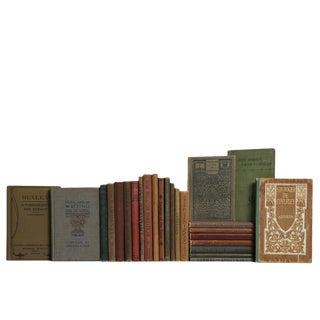 Mini Earth-Tone Academic Book Set, S/25 For Sale