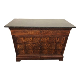 French Louis Philippe Mahogany Commode For Sale