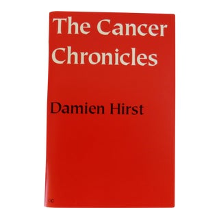 Damien Hirst the Cancer Chronicles Book For Sale