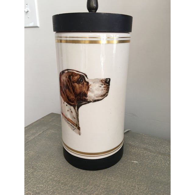 Frank Vosmanski for Abercrombie and Fitch Mid Century Dog Lamp For Sale In Kansas City - Image 6 of 13