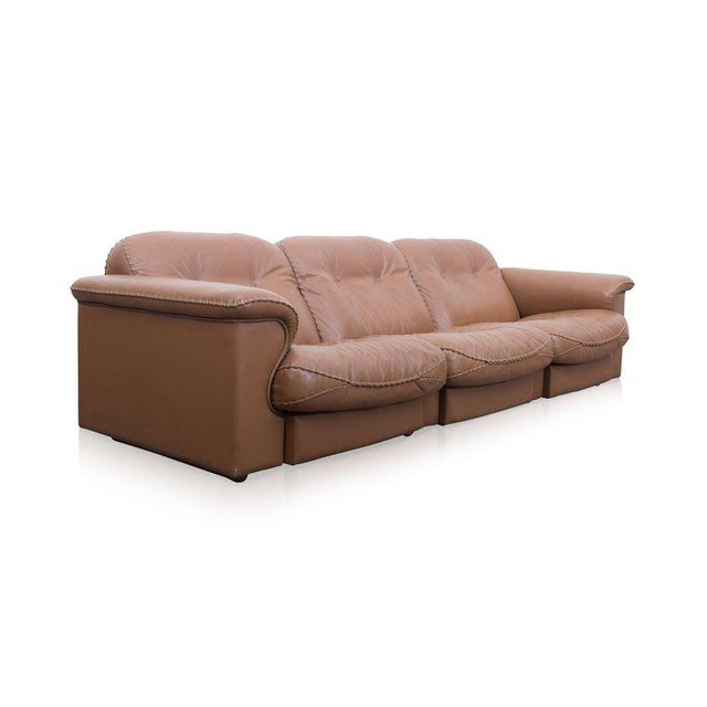 Adjustable DS 101 Three-Seat Sofa by De Sede For Sale - Image 9 of 10