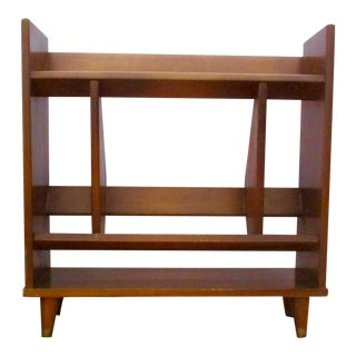 20th Century Danish Modern Wooden Bookcase