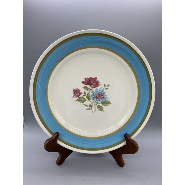 Japan's Blue Lagoon Chop Plate For Sale - Image 9 of 9