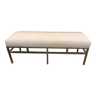 Lexington Furniture Lucca Metal Bench For Sale