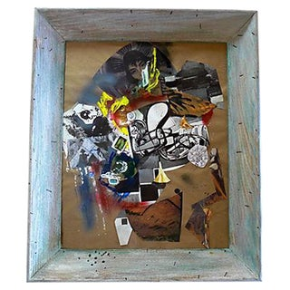 Modern Art Abstract Collage For Sale