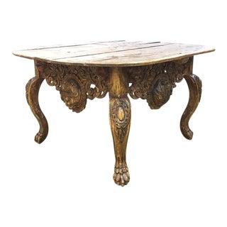 Spanish Vestment Center Table For Sale