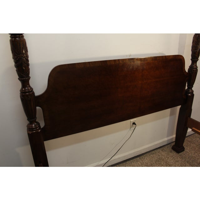 Traditional 4 Post. Plantation/Rice Queen Bedframe - Image 8 of 11